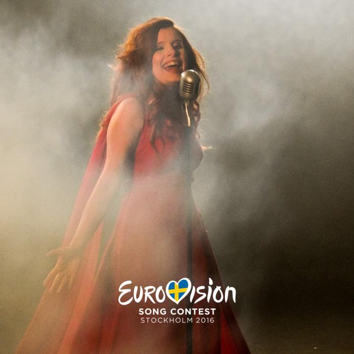 Dorota Osińska w finale eliminacji do Eurowizji