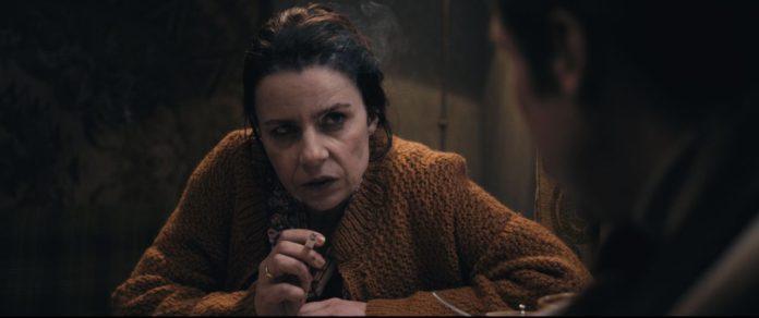 Agata Kulesza w filmie Jestem mordercą
