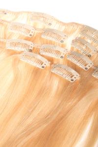 Włosy clip-in - jasny blond