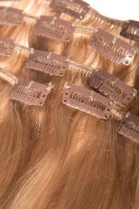 Włosy clip-in - miodowy blond