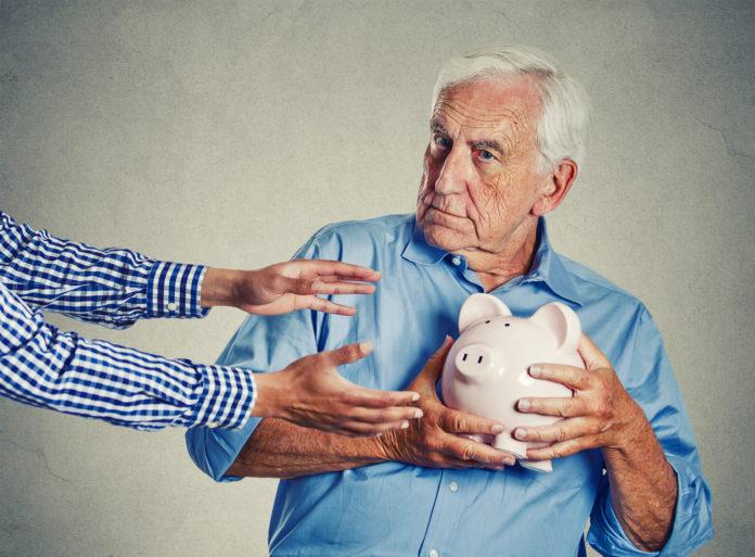 Oszukiwani staruszków