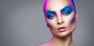 Zimowy make-up