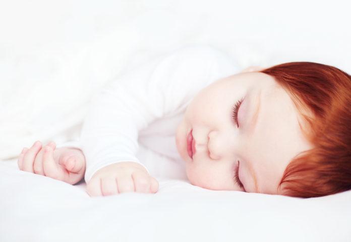 Fryzura niemowlaka