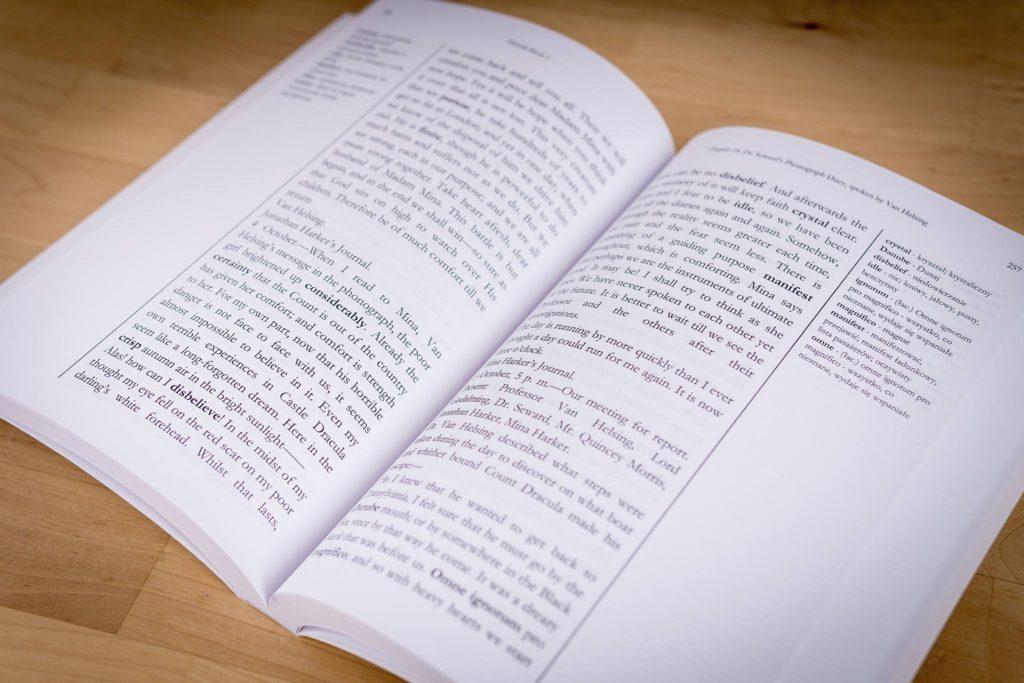 książki ze słownikiem