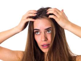 Włosy z odrostami