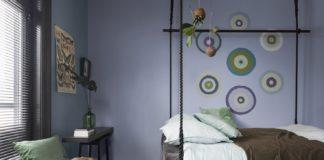 Sypialnia w stylu Boho - Dulux