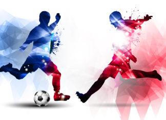 Piłkarze w reklamach