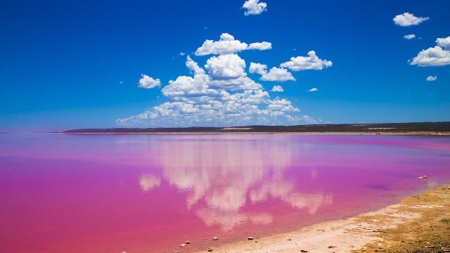 Pink Lake – Australia