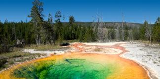 Morning Glory Pool Yellowstone National Park, Wyoming, USA
