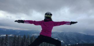 joga przed nartami