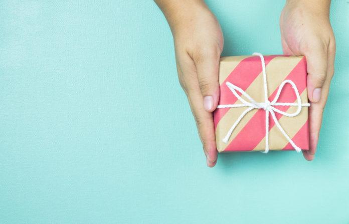 Kolorowy prezent