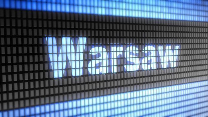 Warszawa - napis www