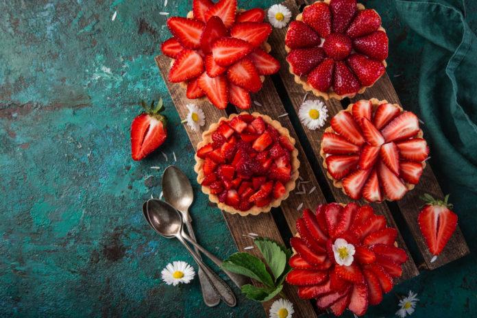 desery z truskawek