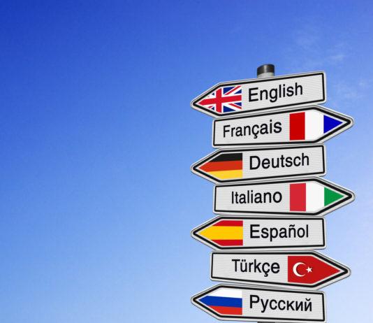 ćwiczenie języka obcego
