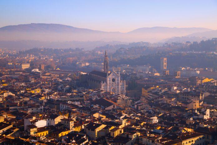 Miasteczko w Toskanii