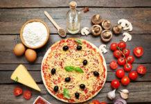 Pizza na desce