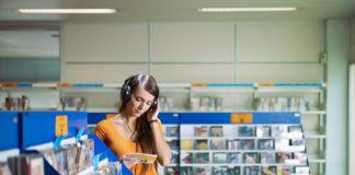 W sklepie z muzyką