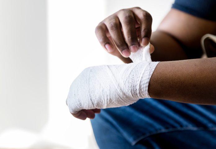 Ręka po operacji