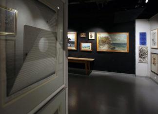 Galeria sztuki - obrazy na ścianie