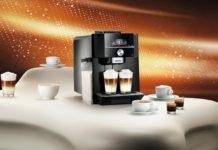 Ekspres ciśnieniowy i dużo kawy