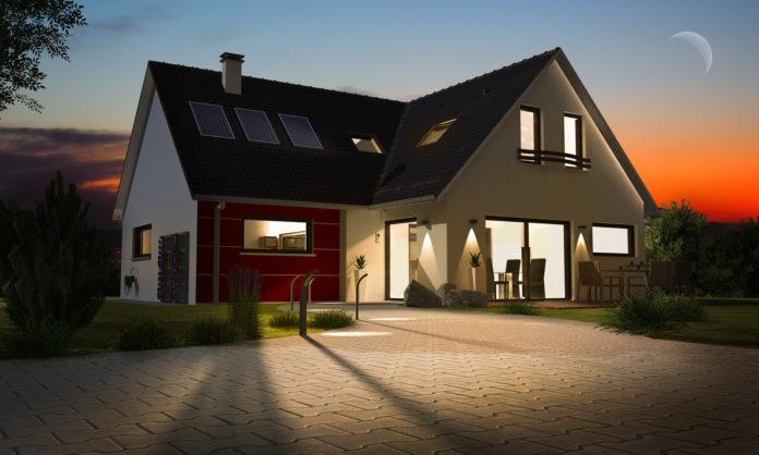 Dom z inteligentym oświetleniem