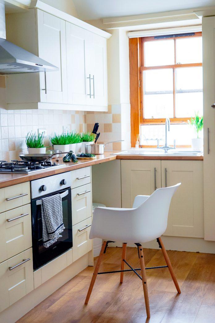 Płytki w nowoczesnej kuchni