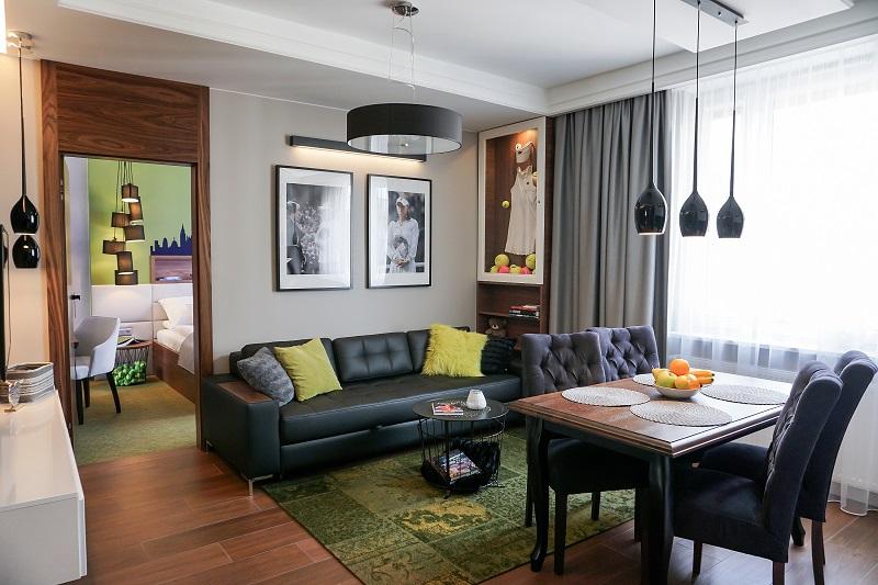 Wnętrze Aga Tenis Apartments