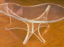 Stół z plexi