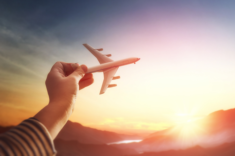 Planowanie podróży samolotem