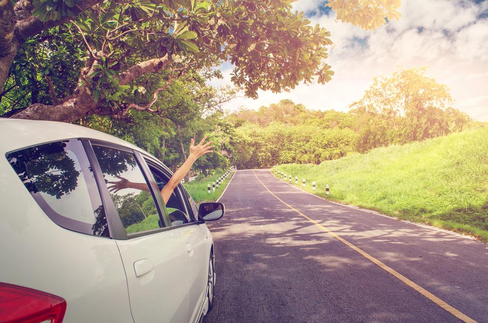 Podróż w samochodzie