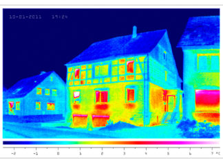 Obraz z kamery termowizyjnej