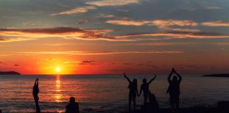 Ibiza - zachód słońca