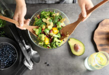 Pyszna sałatka z brokułem