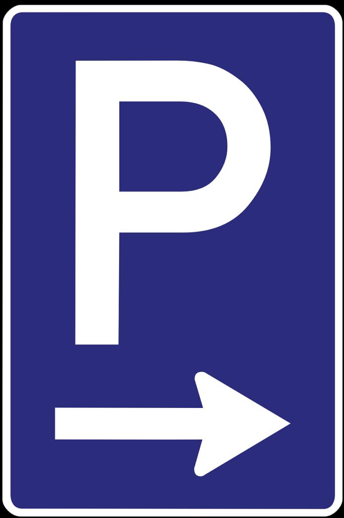 Parking -znak drogowy