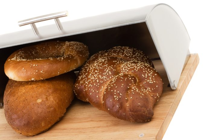 Pieczywo w chlebaku