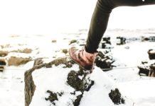 Buty zimowe damskie w terenie