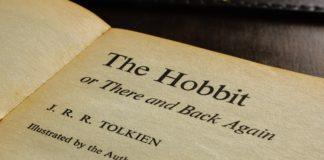 Hobbit Tolkiena strona tytułowa