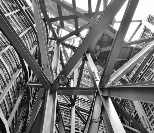 stalowa konstrukcja