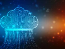 ilustracja chmura dane