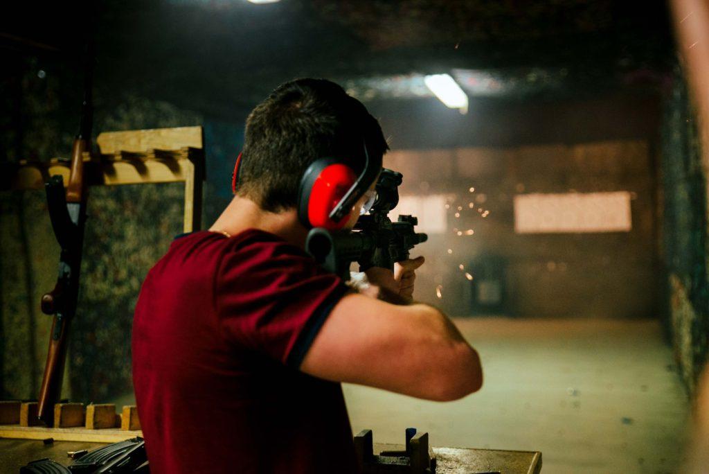 strzelanie na strzelnicy