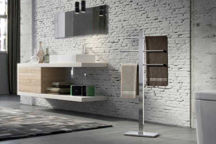 nowoczesna łazienka w stylu industrialnym