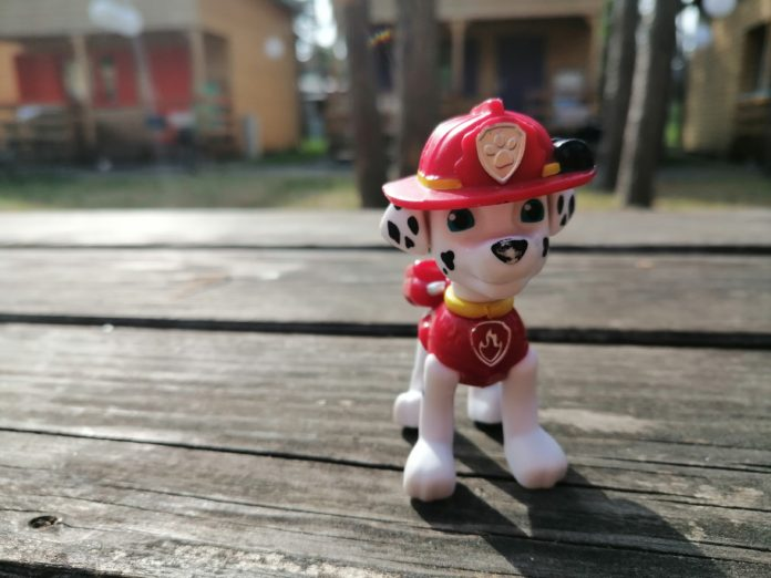 Paw Patrol Marshal figurka psi patrol