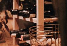 regały na wino