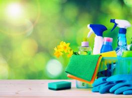 artykuły do sprzątania