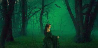 czarownica w lesie