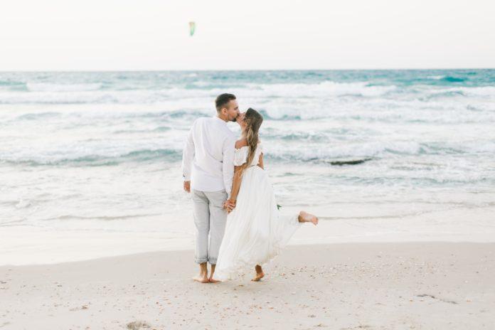 ślub humanistyczny na plaży