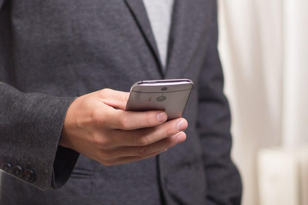 smartfon usterka