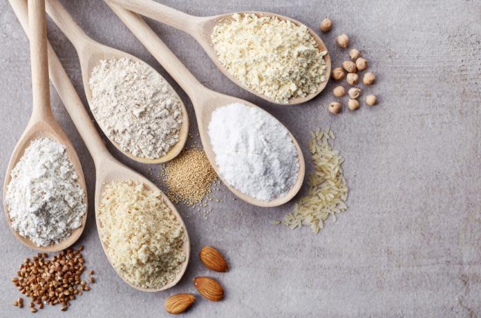 różne mąki bezglutenowe
