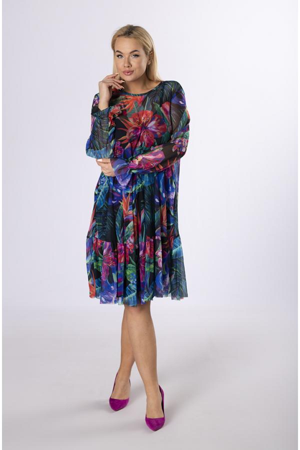 Sukienki wzorzyste w rozmiarze plus size