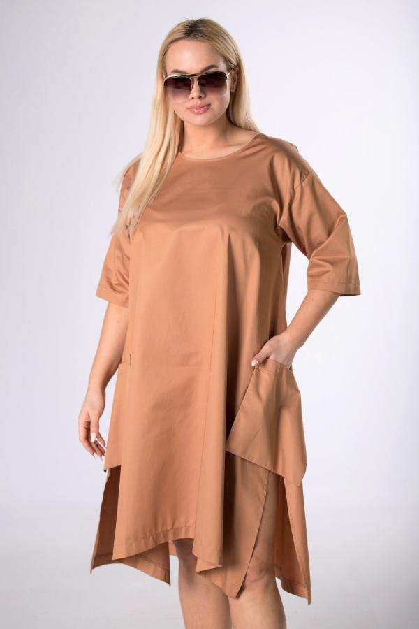 sukienka asymetryczna xxl